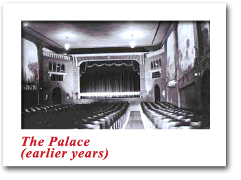 The Palace Theatre - Earlier Years